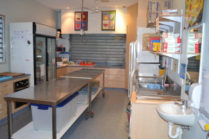 Our Kitchenette is used to prepare afternoon tea and share cooking experiences with the students.